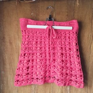 Vintage Nanette Lepore Cotton Knit Mini Skirt